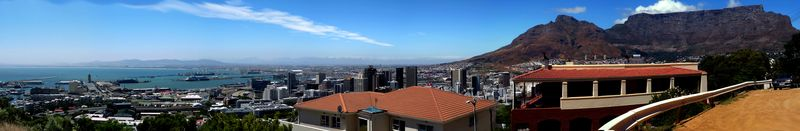 City View with Table Mountain and Harbor 1