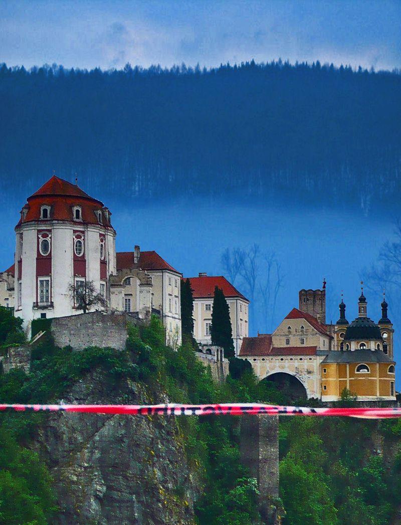 Castle near znojmo