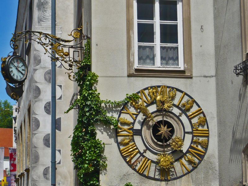 Steyr clock