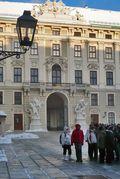 Vienna Hofburg Courtyard