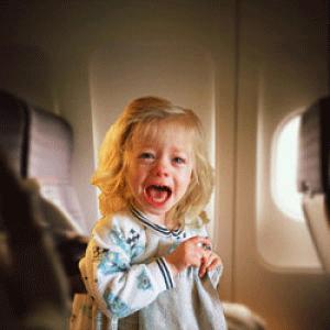 Airplane-crying-child