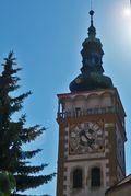 Mikulov Town Hall clock