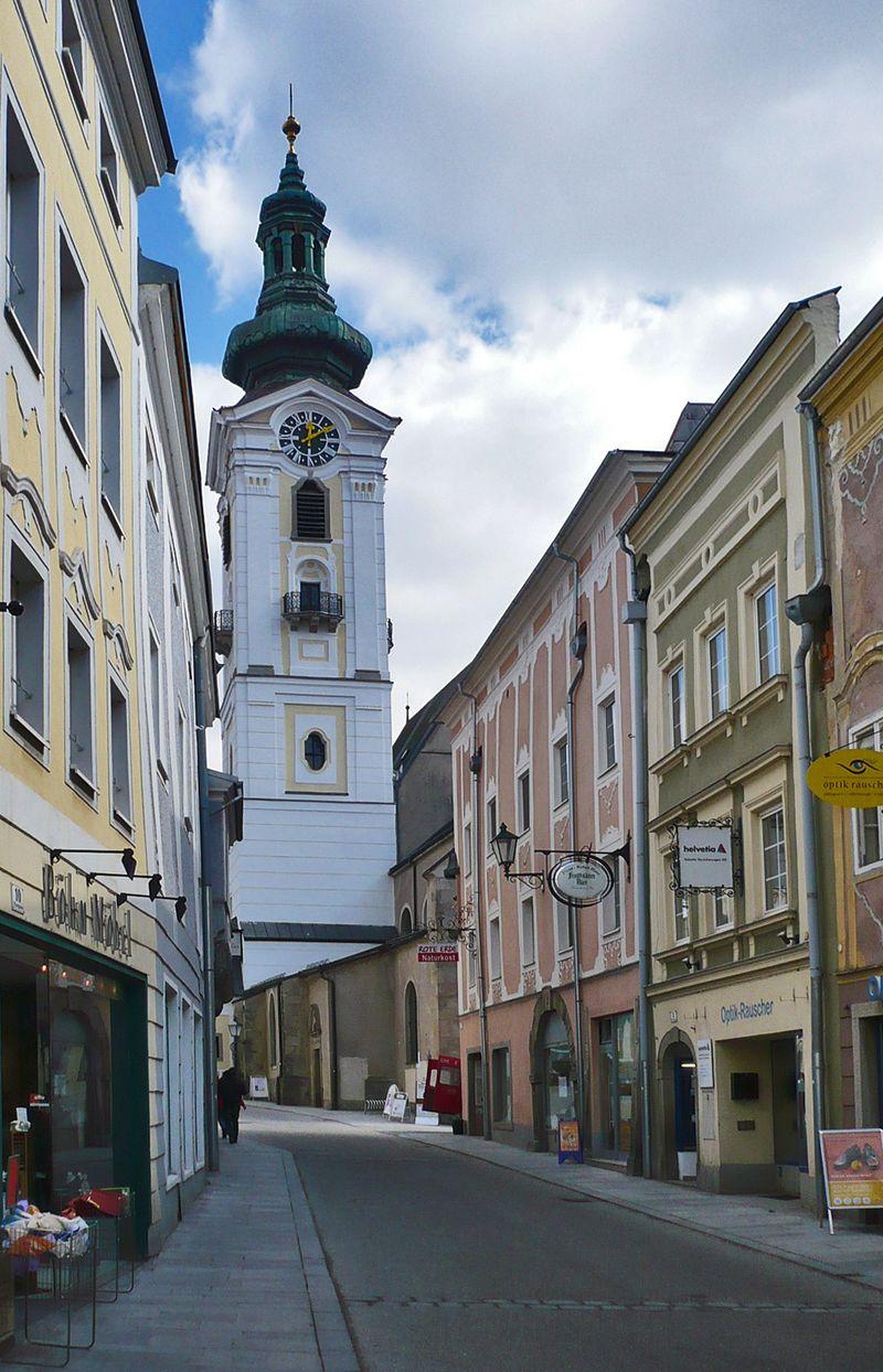 Church and street